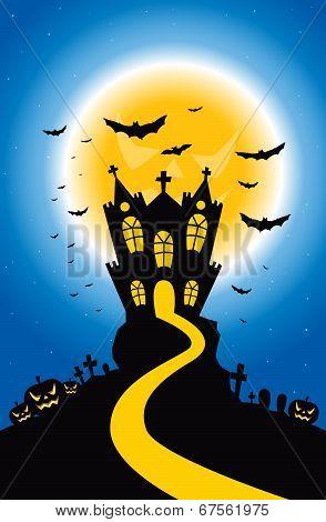Halloween Creepy Hill