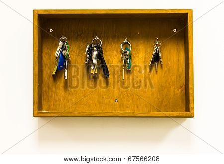 key in the wood Cabinet Key furniture