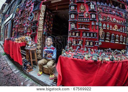 Seller Boy In Bhaktapur