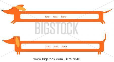 Dachshund banner