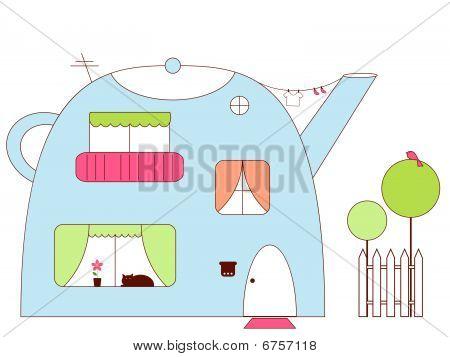 Teapot-house