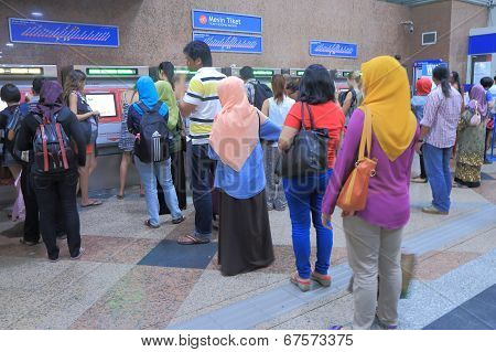 Commuters KL Central Station Kuala Lumpur