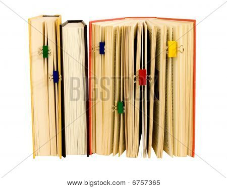 books with clips