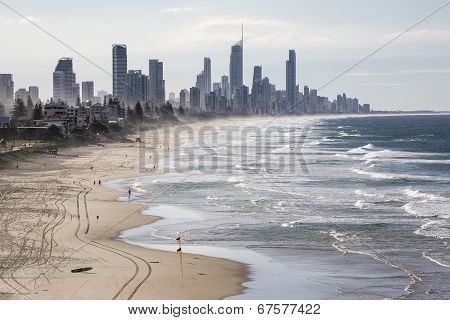 Gold Coast view from Miami Headlands