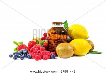 Vitamin C And Mix Fruit