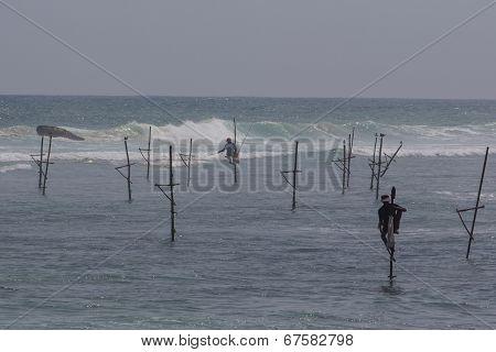 Fishing On Sri Lanka