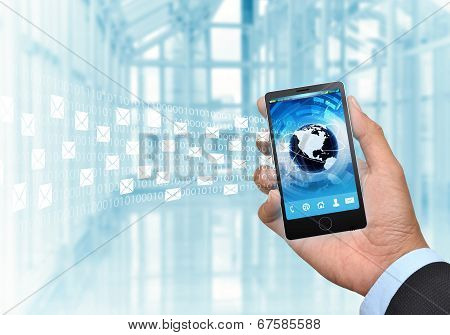 Email On Smart Phone