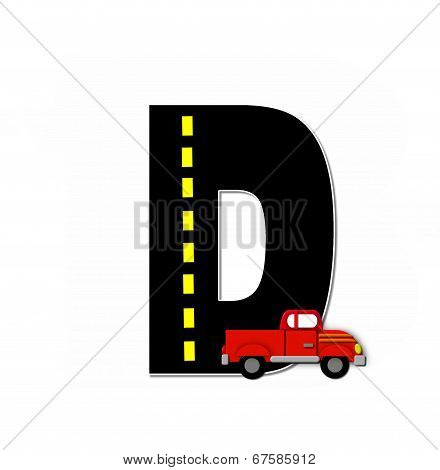 Alphabet Transportation By Road D