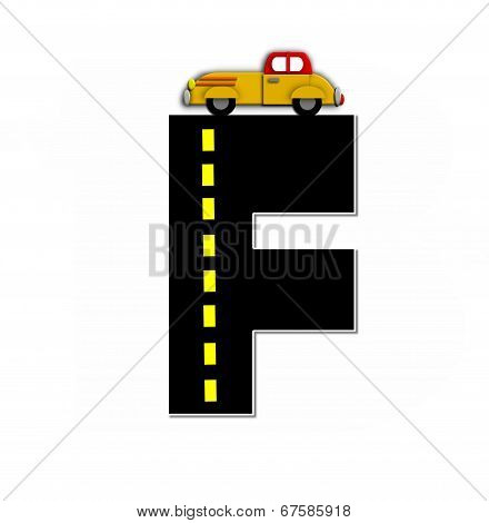 Alphabet Transportation By Road F