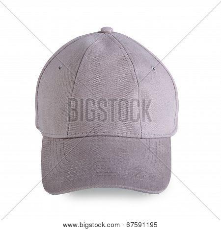 Gray Baseball Cap