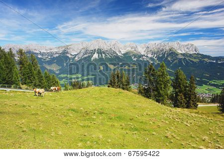 Kaiser Mountains, Austrian Alps