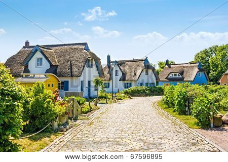 Thatched-roof Vacation House Settlement