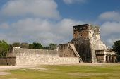 pic of yucatan  - Mexico Chichen Itza ruins is the most famous and best restored of the Yucatan Maya sites - JPG