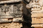 image of yucatan  - Mexico Chichen Itza ruins is the most famous and best restored of the Yucatan Maya sites - JPG
