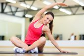 image of stretch  - fitness - JPG