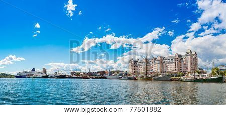 Oslo Skyline In Norway