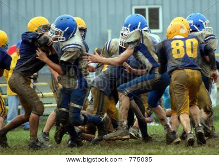 Football in the Mudd