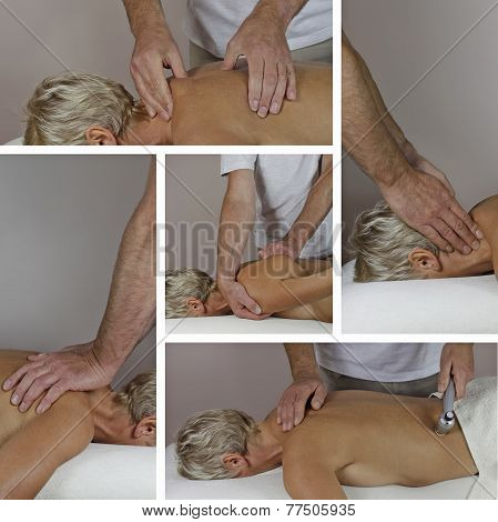 Male Sports Massage Therapist