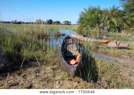 Okavango Tourist Mokoros