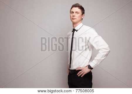 Fashionable Young Male Model