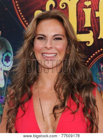 LOS ANGELES - OCT 12:  Kate del Castillo arrives to the