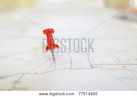 Red Tack Map