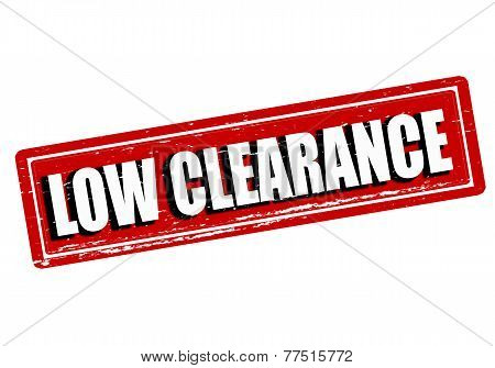 Low Clearance