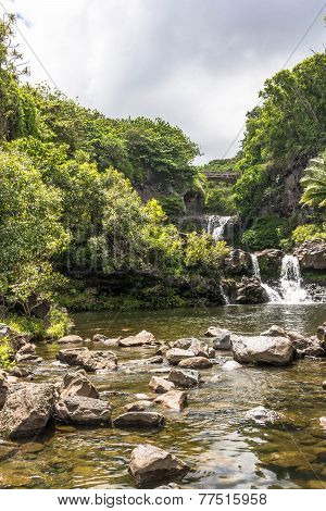 Waterfalls in Kipahulu, Maui