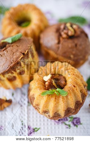 Sweet Walnut Muffins