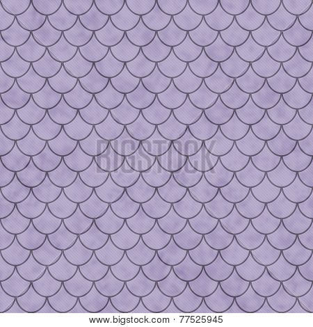 Purple Shell Tiles Pattern Repeat Background