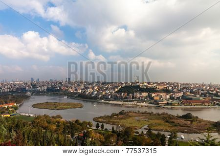 Istanbul, view from Eyup