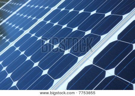 Blue Solar Pannels