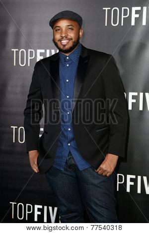 NEW YORK-DEC 3: Director/writer Justin Simien attends the
