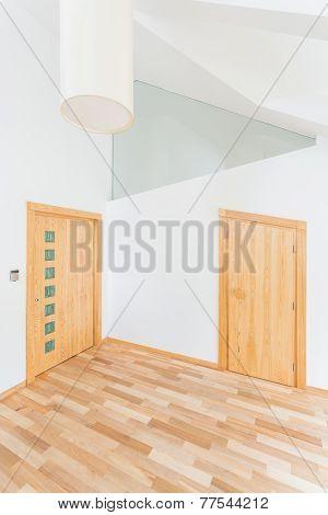 Empty Room In The Attic