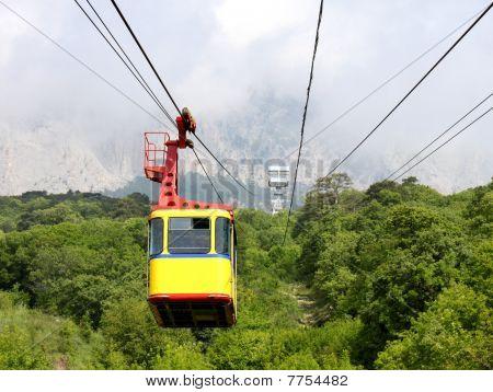aerial ropeway cabin