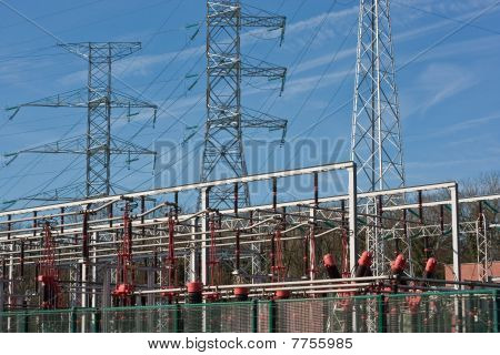 Transformers And Electrical Towers