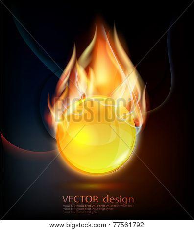 Fiery design