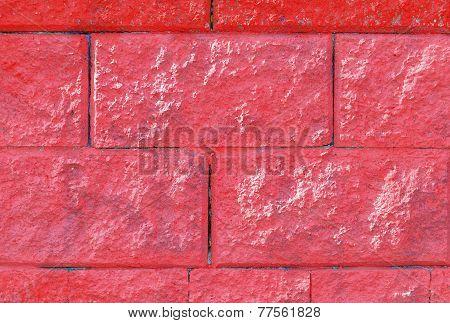 Pink Bricks A