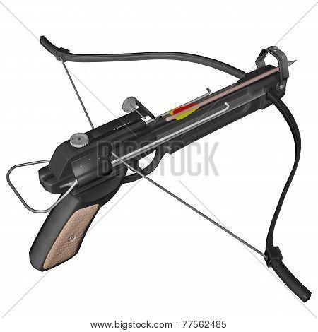 Hand crossbow - 3D render