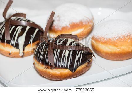 Donuts Close-up
