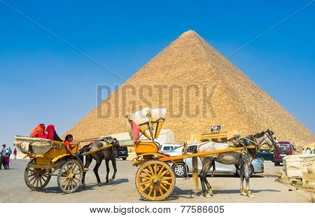 To Pyramids With Comfort