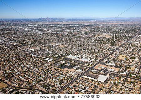 Mesa, Arizona Skyline