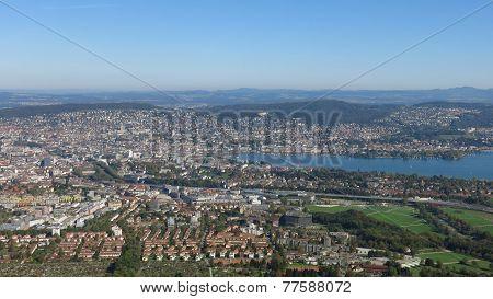 Zurich, View From Uetliberg
