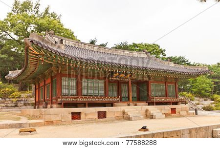 Yanghwadang Hall (1484) Of Changdeokgung Palace In Seoul, Korea