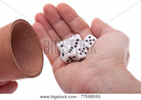 Dices In The Hand