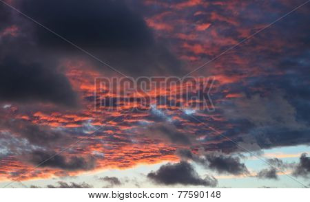 Red Cloud Sky
