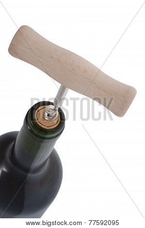 Wine Bottle With Bottle Opener