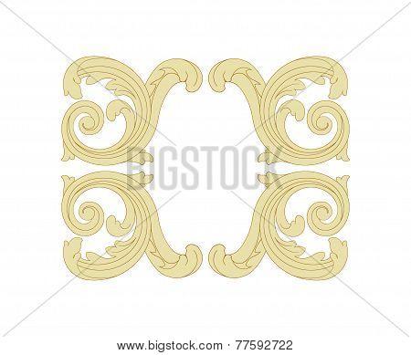 Fancy panels Rococo