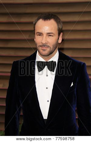 LOS ANGELES - MAR 2:  Tom Ford at the 2014 Vanity Fair Oscar Party at the Sunset Boulevard on March 2, 2014 in West Hollywood, CA