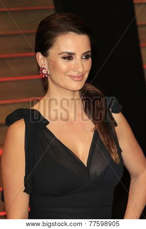 LOS ANGELES - MAR 2:  Penelope Cruz at the 2014 Vanity Fair Oscar Party at the Sunset Boulevard on March 2, 2014 in West Hollywood, CA